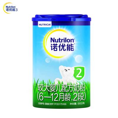 诺优能较大婴儿配方奶粉 (6-12月龄,2段)