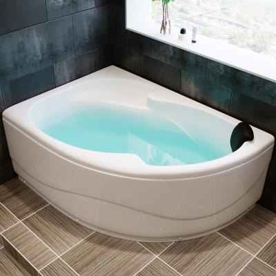 艾吉诺 亚克力浴缸 浴盆成人 保恒温冲浪按摩五金件小三角扇形1.2米1.3米 1.4米 1.5米 1.6米 1.7米