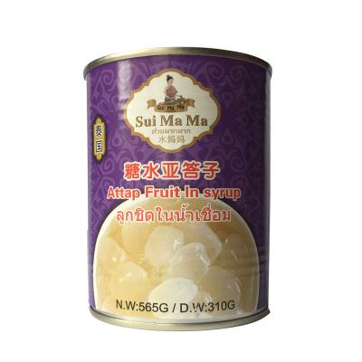 泰国进口 水妈妈糖水亚答子 565g 罐头 糖水棕榈果可做甜品 饮料 刨冰 开罐即食糖水亚答子