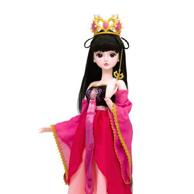 叶罗丽娃娃女孩儿童玩具夜萝莉仙子DIY仿真洋娃娃精灵梦卡通套装礼盒改装换装玩具 叶罗丽仙子60CM