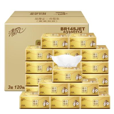 Qing feng брэндийн салфетка 3 давхарга 120 ширхэгтэй 20 жижиг боодол