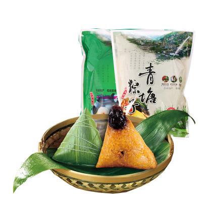 山西特产临县青塘村粽280g*4袋共8只黄米江米八宝 搭档两米 蜜浸红枣甜粽端午粽子 江米粽8个