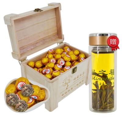 民之福 福鼎白茶白牡丹散裝茶葉2012茶坨棗香型500克木盒裝