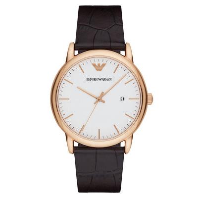 阿玛尼(EMPORIO ARMANI)手表欧美品牌商务时尚男士石英表 AR2502