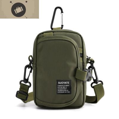 多功能男士小包包防水夏季零钱手机包单肩斜跨包穿皮带腰包小挂包 艾狄伊娃