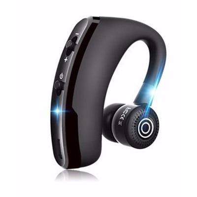 藍牙耳機商務超長待機聲控迷你運動無線適合vivo華為oppo蘋果小米通用V9黑色耳掛式 BASN