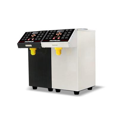 lecon/乐创洋博 果糖机 银色 商奶茶专用全自动果糖定量机 16格超精准台湾果糖机 咖啡店糖浆机
