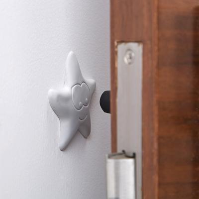 家橡膠門后墻面防撞墊門鎖防碰墊家具門把手加厚靜音墊