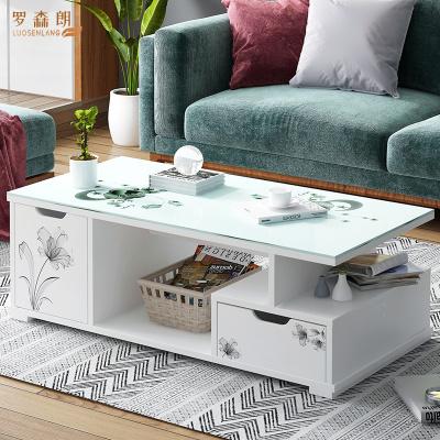 羅森朗 茶幾客廳沙發邊幾小戶型角幾邊桌臥室茶桌茶臺現代簡約小桌子