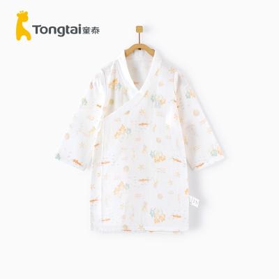 童泰春夏新款嬰兒床品用品5-24月男女寶寶家居袍嬰幼兒純棉睡袍