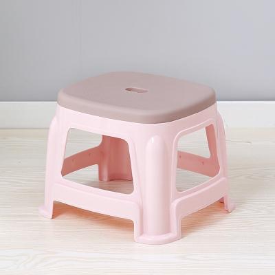 加厚家用方塑料凳子小椅子客厅高板凳简易餐桌塑料凳子经济型
