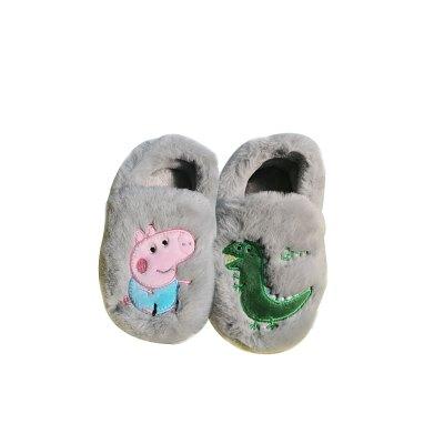 小猪佩奇 Peppa Pig 男女儿童棉拖鞋 9885