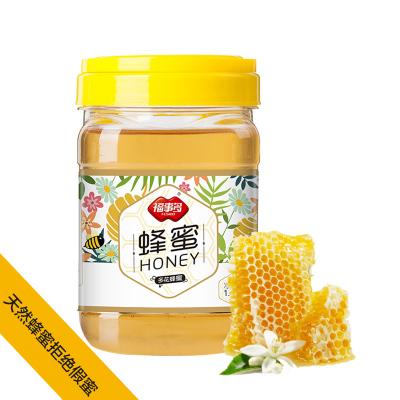 福事多蜂蜜1000g純瓶天然農家自產野生蜜源百花蜜取蜂巢蜂蜜