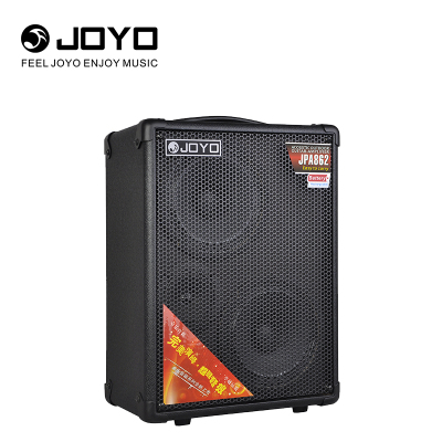卓樂 JOYO JPA862吉他音箱流浪歌手演唱便攜式拉桿移動戶外充電款廣場舞彈唱音響(可連接兩個樂器)