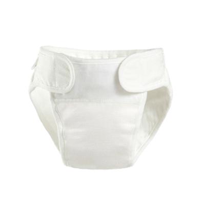 貝貝怡初生兒用品嬰兒純棉紗布尿布褲寶寶透氣防水尿布兜133P009