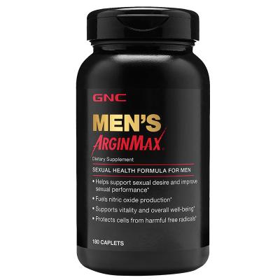 GNC男性雄劲综合复合多种维生素AriginMax含锌硒宝精氨酸180粒伟哥