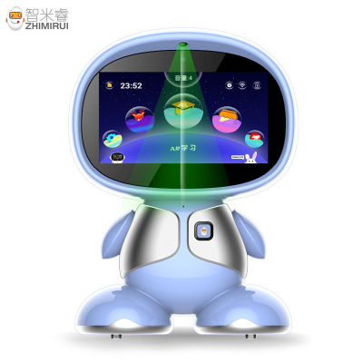 狄刺史7寸屏安卓智能機器人AR課本電視投屏視屏通話中英互譯電視投屏男女孩智能學習機