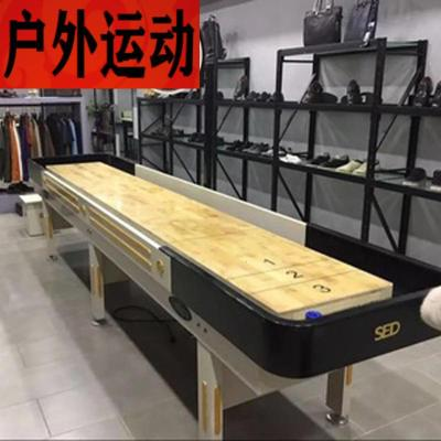 蘇寧好店娛樂2.7米優質實木沙壺球臺沙狐球臺沙壺桌6035新款