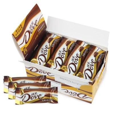 德芙 巧克力 絲滑牛奶巧克力 224g盒裝