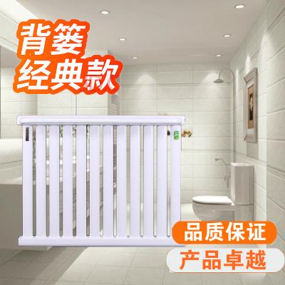暖氣片家用閃電客鋼制衛浴小背簍/散熱器暖氣衛生間 銅鋁壁掛水暖散熱片 銅鋁7+1長60 0.4m