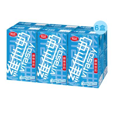 年货维他奶原味豆奶250ml*6盒/箱(早餐搭配)