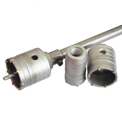 納麗雅(Naliya)沖擊電錘鉆頭墻壁開孔器穿墻空心鉆沖擊鉆空調打孔油煙機擴孔鉆頭 方柄秸稈(400)mm