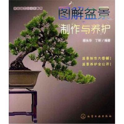 正版書籍 家庭園藝DIY系列--圖解盆景制作與養護 9787122072443 化學工業出