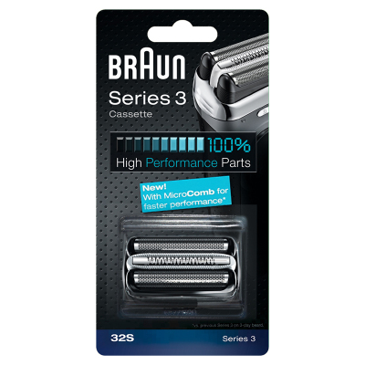 博朗(Braun)刀头网膜组合32S