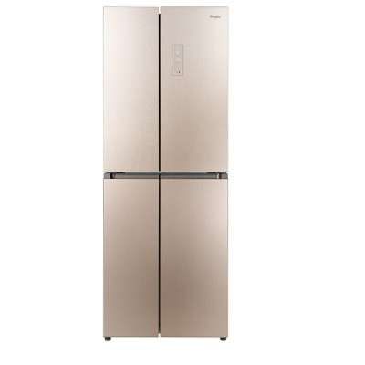 whirlpool/惠而浦BCD-419WMG 419升風冷電腦控溫 十字對開門電冰箱 鋼化玻璃多門 波爾卡金