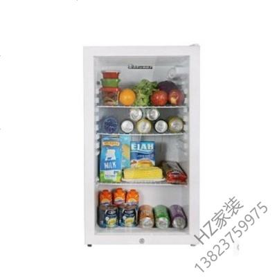 苏宁严选 带锁小冰箱幼儿园食品留样柜单冷藏柜茶叶保鲜柜家用小型