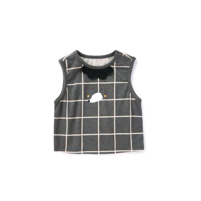 巴拉巴拉寶寶馬甲嬰兒背心夏季薄款外穿洋氣新款男童純棉時尚