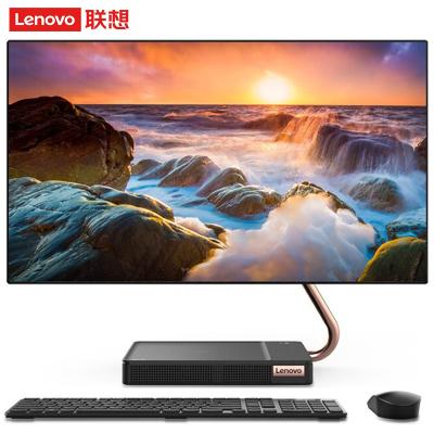 联想(Lenovo) AIO 520X-24 23.8英寸高端高色域一体机电脑 i5-9400T 16G 1TB+512GB 2G独显 定制版 游戏设计家用商用办公 无线充电底座