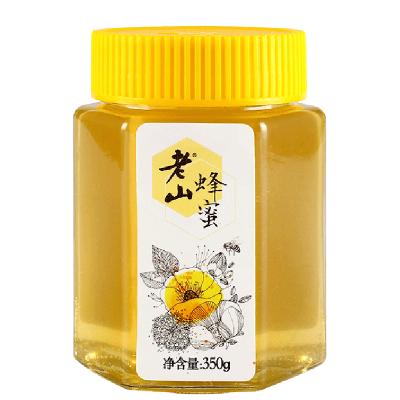 老山蜂蜜350克/瓶纯瓶天然农家自产洋槐蜜百花源野生土蜂蜜