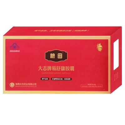 粮田 易舒康牌易舒康胶囊 400mg/粒*12粒/板*1板/小盒*6小盒/大盒