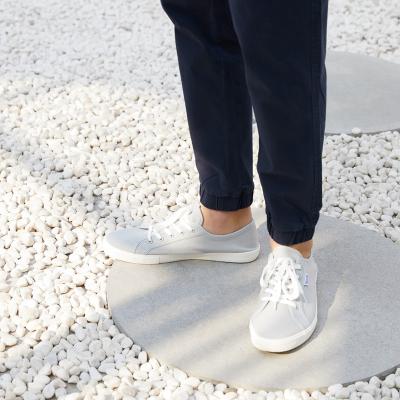 【1件3折价:25.8】美特斯邦威帆布鞋男士春秋新款男单层帆布系带硫化鞋
