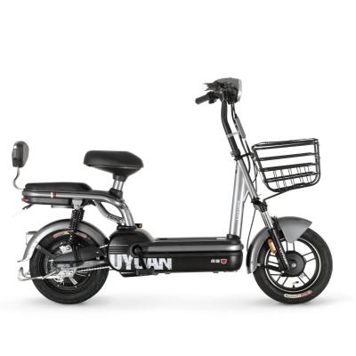 綠源新國標電動車成人48V20A鋰電池電瓶車FEG女士代步電動自行車