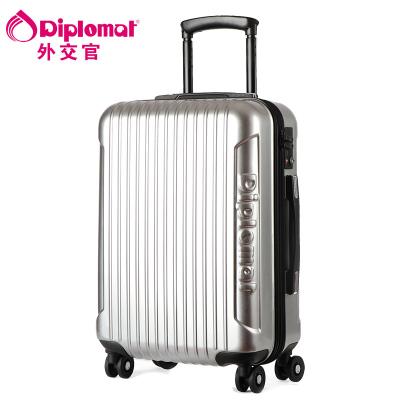 Diplomat брэндийн аялалын чемодан TC-142 28 инч мөнгөлөг
