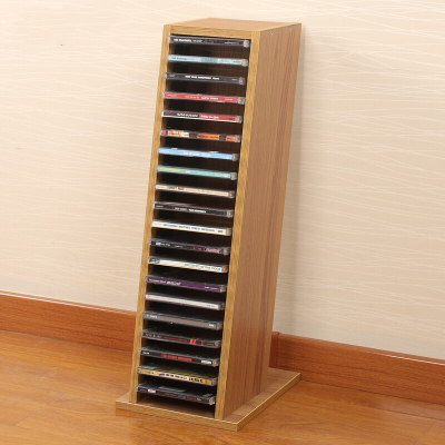 蘇寧放心購CD收納盒CD架 碟片架光盤架大容量CD架書架藍光碟簡約新款