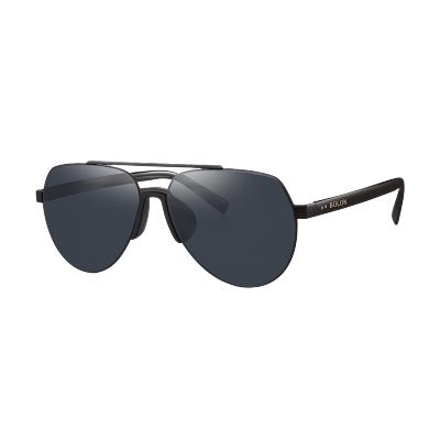 BOLON暴龙太阳镜男士年新款偏光高清墨镜轻薄司机全框驾驶镜BL8018