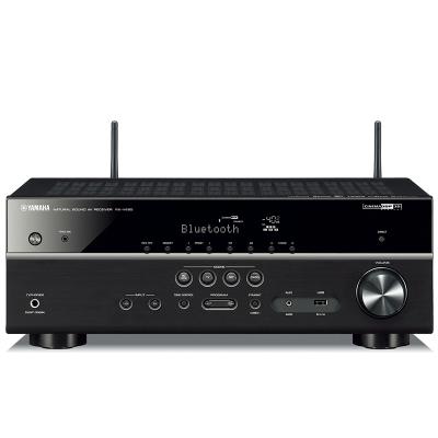 雅馬哈(YAMAHA) RX-V485藍牙4K 5.1聲道家庭影院AV功放黑色