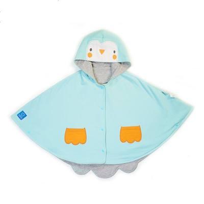 smallidea秋冬季男女宝宝动物造型斗篷婴儿披肩加厚保暖儿童披风