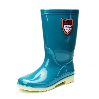 3515强人中筒雨靴女成人水鞋时尚防水鞋果冻胶鞋套鞋防滑水靴雨鞋