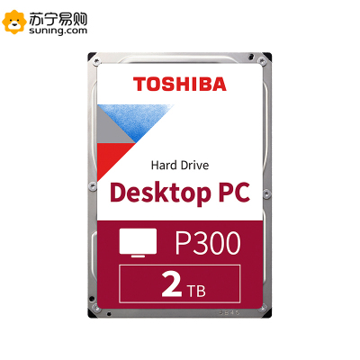Toshiba/東芝 P300系列 2TB 7200轉64M SATA3 臺式機硬盤