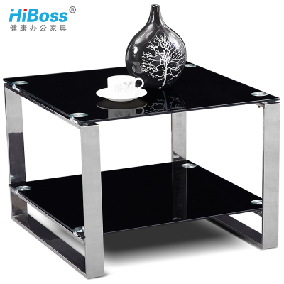 HiBoss辦公角幾雙層沙發邊幾方茶幾