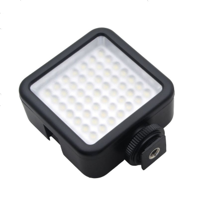 W49攝影燈LED攝像燈 gropro運動單反相機補光燈 攝像機婚慶便攜燈