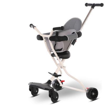 舒莱特(shulaite)儿童折叠手推车便携式四轮出门溜娃车