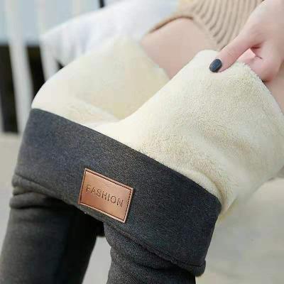 追記 新款秋冬加絨加厚打底褲外穿修身顯瘦小腳褲子女