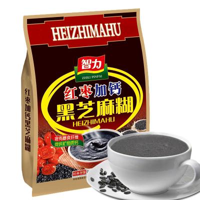 智力 紅棗加鈣黑芝麻糊700g(內含17小包) 黑芝麻糊谷物營養早餐代餐