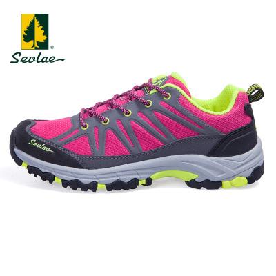 圣弗萊春夏透氣女式徒步鞋戶外防滑耐磨休閑鞋登山鞋爬山鞋子9111681209