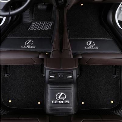 海蒂克魯雷克薩斯ES250 NX200T ES300H RX270RX200T CT200H汽車腳墊全包圍雙層